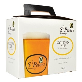 Kit à bière MUNTONS St Peters Golden ale 3 kg