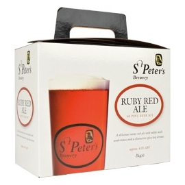 Kit à bière MUNTONS St Peters Ruby red ale 3 kg
