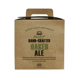 Kit à bière Muntons Hand-Crafted Oaked Ale, 3,6 kg