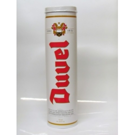 Duvel 75 cl en tube métallique